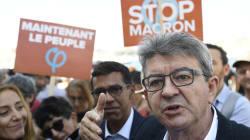 Critiqué après son échange amical avec Macron, Mélenchon y voit un désaveu pour