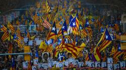 200 000 manifestants à Barcelone contre le procès des