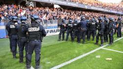 Après les incidents lors de Montpellier-Nîmes, un tag antisémite découvert près du stade de la