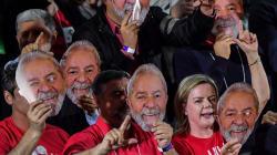 A mensagem de Lula preso, mas candidato: 'Querem inventar uma democracia sem