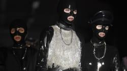 Ambiance SM au défilé Moschino pour la Fashion week de