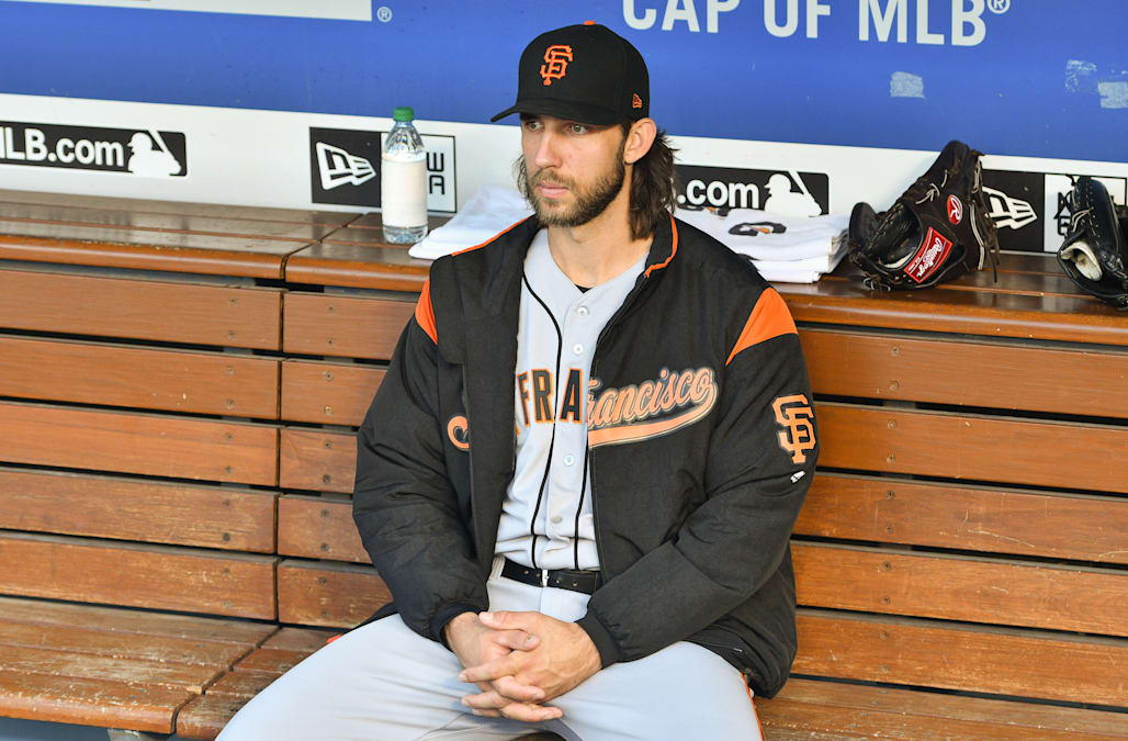 01d92421 Line drive fractures Bumgarner's pitching hand - AOL News