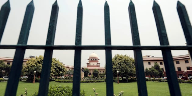 India's Supreme Court is pictured through a gate in New Delhi, India May 26, 2016. REUTERS/Anindito Mukherjee