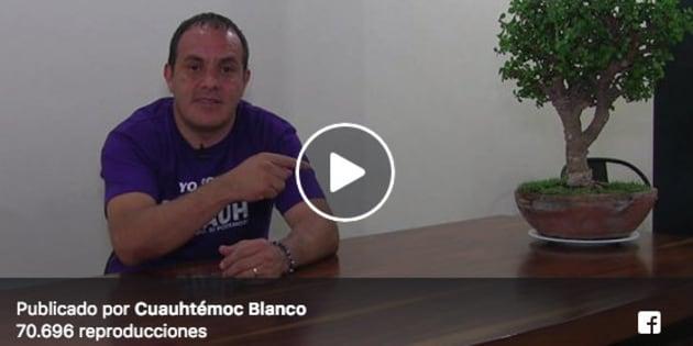 El exfutbolista encabeza las encuestas para convertirse en el próximo gobernador de Morelos.