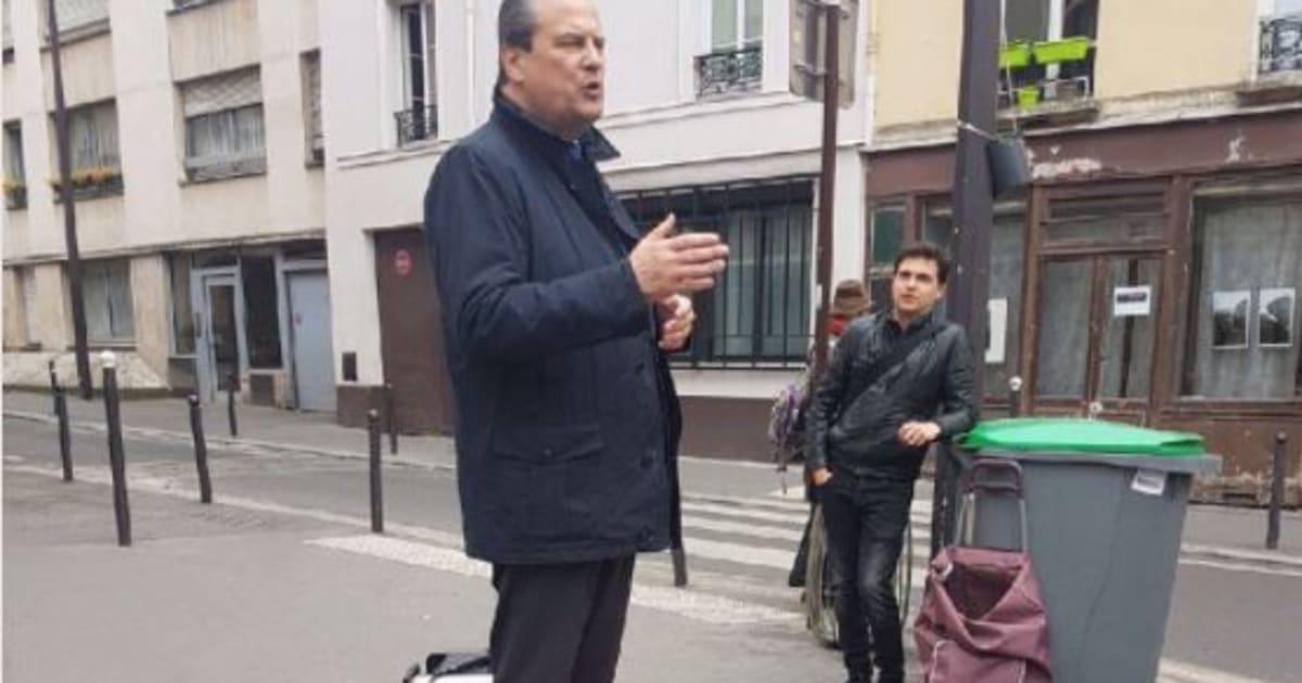 Jean-Christophe Cambadélis en campagne sur une palette vaut le détour(nement)