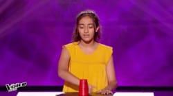 La voix et l'instrument de cette candidate de The Voice Kids ont séduit le