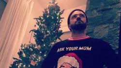 Justin Timberlake remporte le prix du pull de Noël le plus