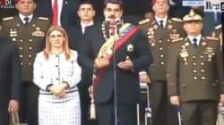Attentato Venezuela: il momento dell'attacco a Maduro in un