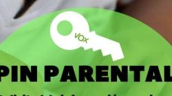 La última ocurrencia de Vox, el pin parental, desata el cachondeo en redes: