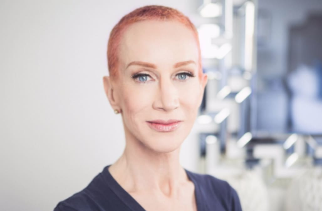 Kathy Griffin Debuts Short Hairdo After Shaving Her Head Aol