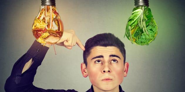 Quando maioresforemas duas áreas frontais do cérebro, maior a possibilidade de escolher alimentos saudáveis.