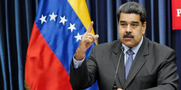 Nicolás Maduro, presidente de Venezuela, duranta una conferencia de prensa en Caracas, Venezuela, el 18 de septiembre pasado.
