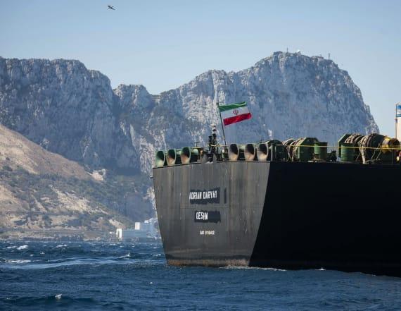 Iran warns U.S. as Gilbraltar releases oil tanker