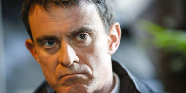 """Manuel Valls ne veut pas """"laisser passer un acte de violence""""."""