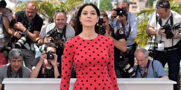 Monica Bellucci au Festival de Cannes en 2014