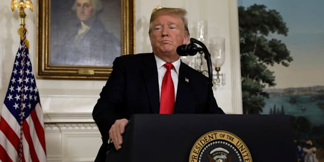 """Donald Trump a proposé ce 19 janvier une série de mesures pour sortir du shutdown (sans rien lâcher sur la """"barrière en métal"""")."""