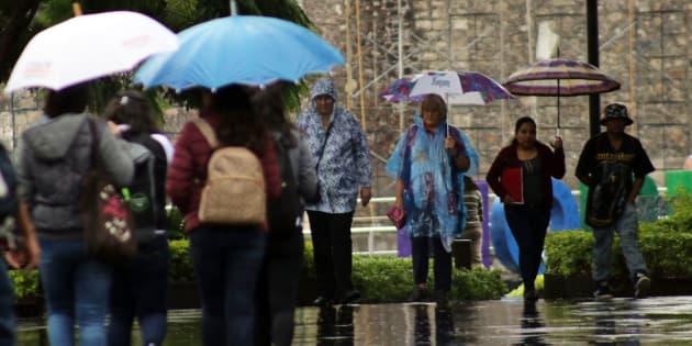 El frente frío número 11 originará un potencial de tormentas fuertes a muy fuertes en varios estados de la República Mexicana.