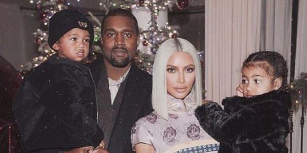 Kim Kardashian et Kanye West accueillent leur troisième enfant né d'une mère porteuse