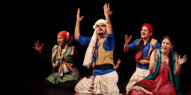 Theatre director Atul Kumar was told that he cannot start his show unless he plays the national anthem at the beginning.