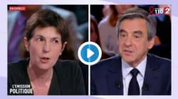 L'échange surréaliste entre Christine Angot et François
