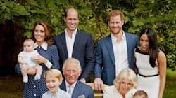 La jolie photo de la famille royale britannique pour les 70 ans du Prince