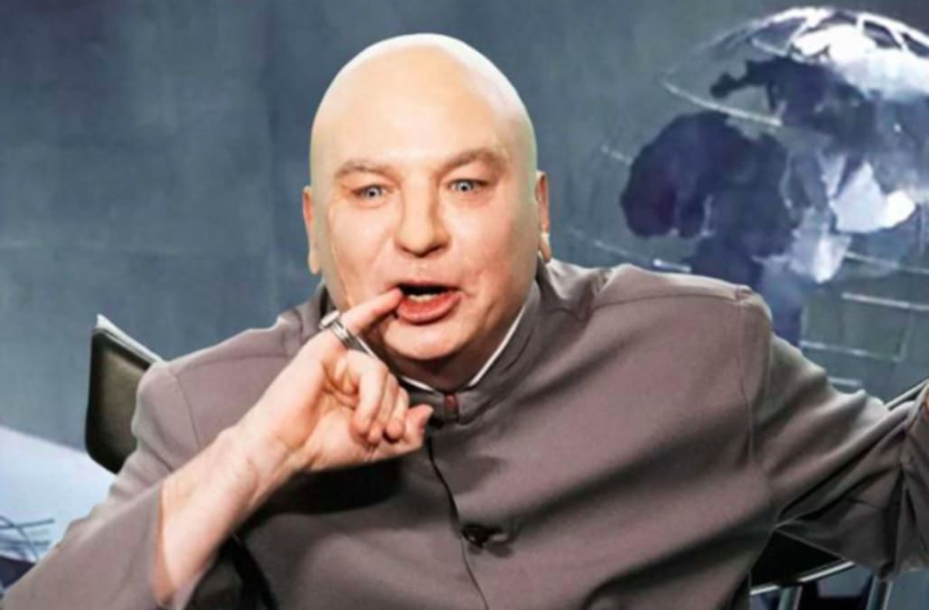 2929256b Mike Myers' Dr Evil reveals he's running for Congress on a 5-point  'Eviltarian' platform (Video)