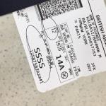 もしあなたの飛行機のチケットに「SSSS」と印刷されていたら...大変なことになるかもしれない