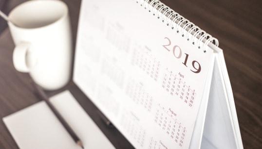 2019 terá 2 feriados prolongados e 3 feriados em fim de