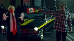 Trump prend cher dans le nouveau clip de Snoop
