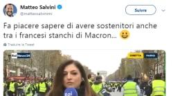Matteo Salvini est ravi de la fronde des gilets jaunes (et des difficultés de