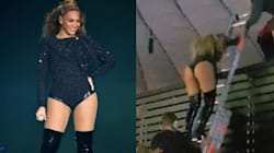 Beyoncé Trapped Onstage During Malfunction At Concert In