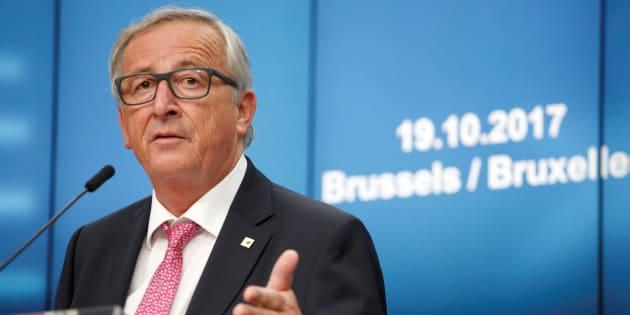 El presidente de la Comisión Europea, Jean-Claude Juncker, en Bruselas (Bélgica).