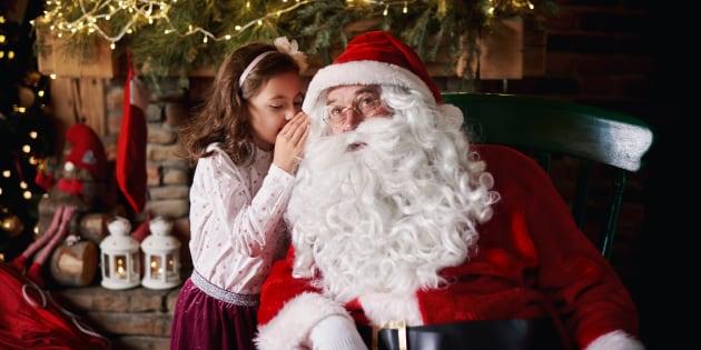 """""""Hacemos el trabajo de Santa para continuar llevando su mensaje de esperanza, espíritu y amor""""."""