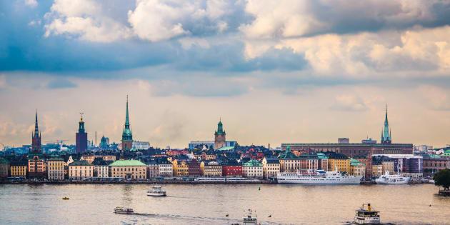 La ville de Stockholm, en Suède.