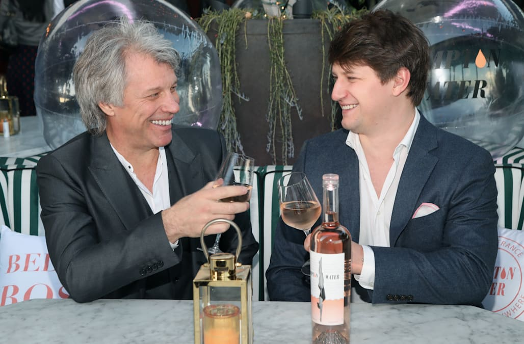 Jon Bon Jovi and son, Jesse, have created the rosé of the ...