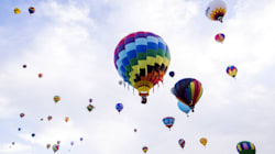 Balloon Race Across The Continent Ends In Emergency Landing In