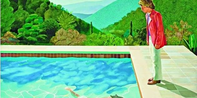 Quadro di David Hockney venduto all