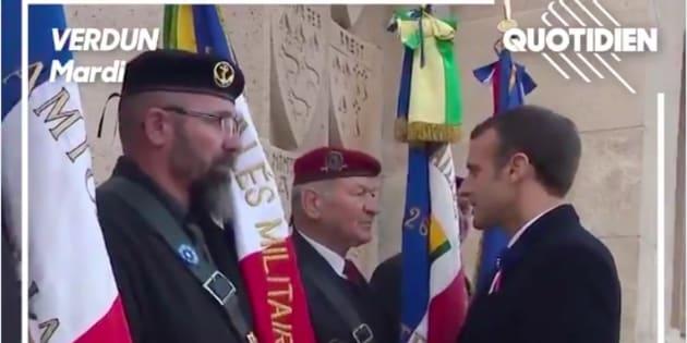 Macron enregistré à son insu à Verdun lors d'une conversation avec des vétérans