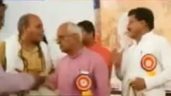 Watch: Two Grown-Ass BJP Politicians Had An Audible Spat At Public Event In