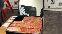 Ce poudrier Chanel rempli de lasagnes est presque