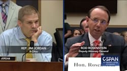 Rod Rosenstein Keeps His Cool As Republicans Lash Out In House Judiciary