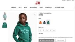 H&M fait porter un sweat à message à un enfant noir et les internautes