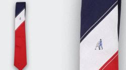 Ces cravates vont vous rappeler les plus mauvais gestes mythiques du foot