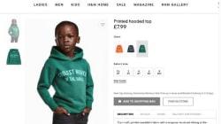 H&M fait porter un coton ouaté à message à un enfant noir et les internautes
