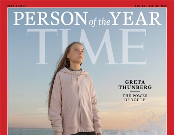 Youngest figure ever named TIME Person of the Year