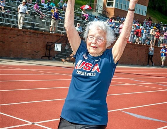 103-year-old runner is breaking records