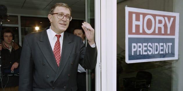 Mort de Jean-François Hory, ancien patron des radicaux de gauche et compagnon de route de Bernard Tapie
