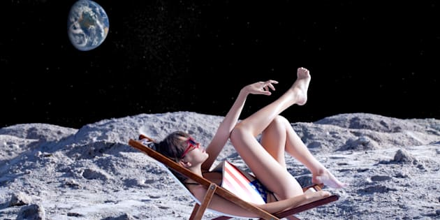 """""""If you book a trip to a resort on Mercury, which is the closest planet to the sun, don't forget your 2,000,000 Plus sunscreen, it's a tad warm."""""""