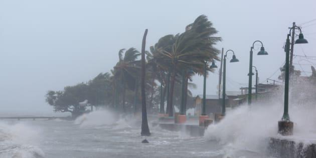 Après le passage d'Irma, Saint-Martin vu du ciel