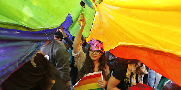 A file photo of the Delhi Queer Pride March.